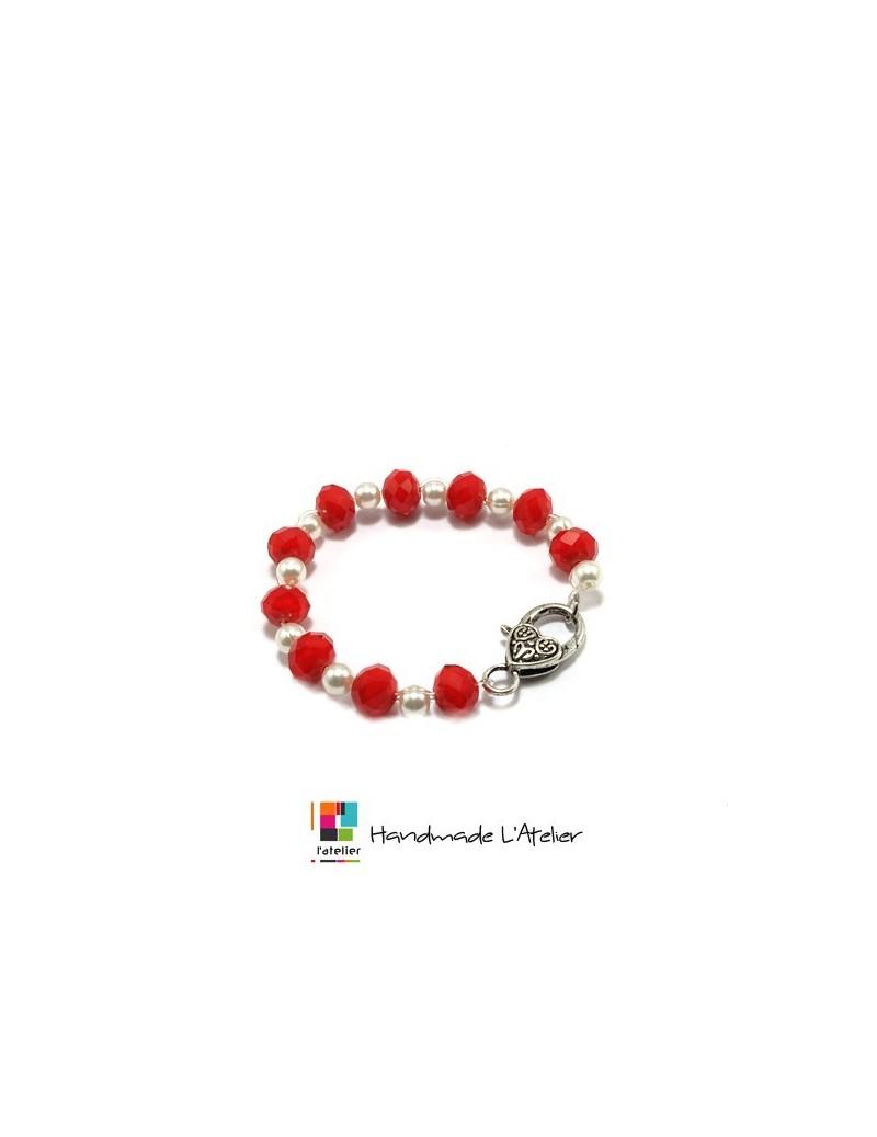 Bracelet perles à facettes...