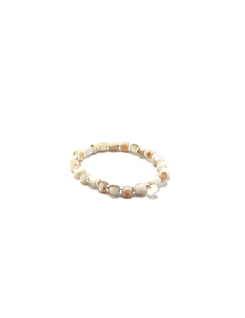 Bracelet de perles nacrées