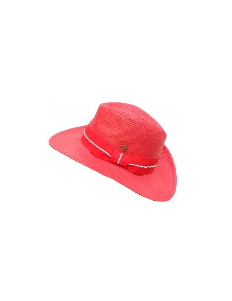 Chapeau en papier 100 % rouge