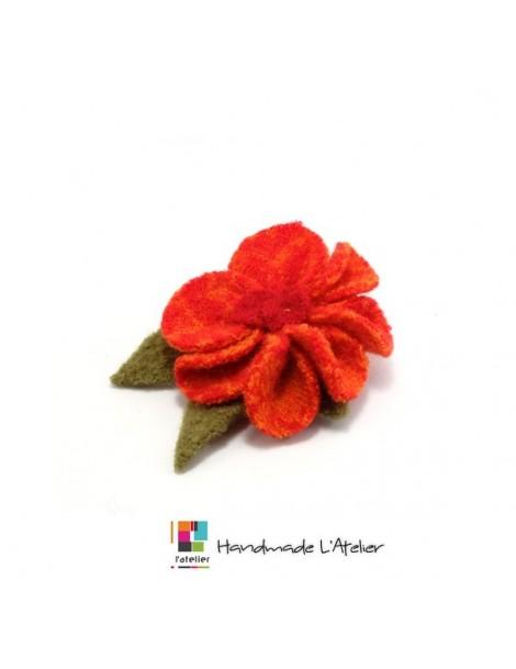 Foulard en soie et coton coloré