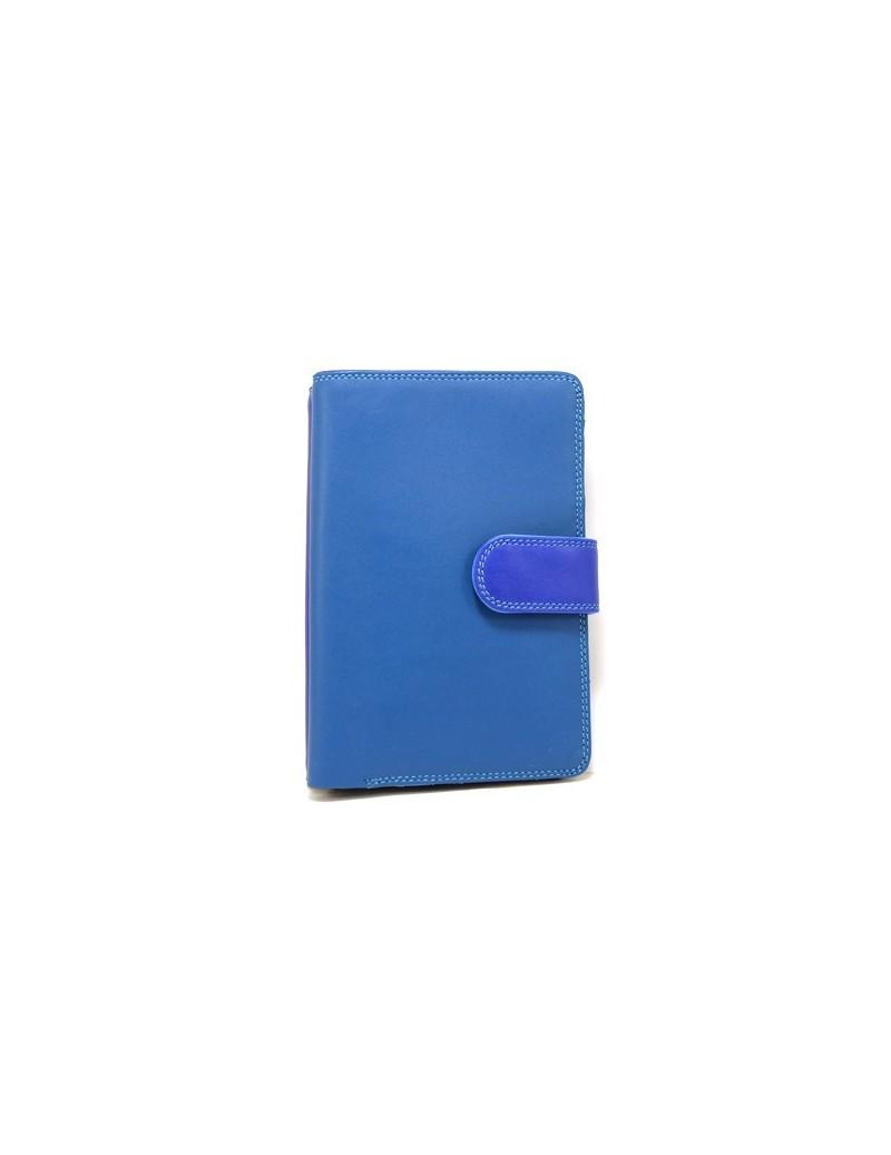 Portefeuille en cuir coloré