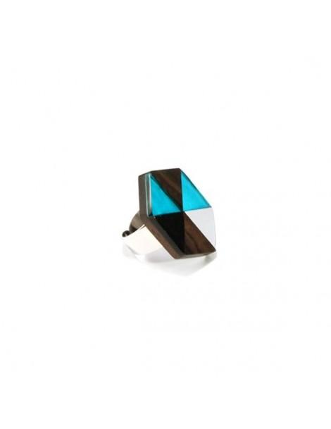 Bracelet multicolore et métal argenté , perles en résine