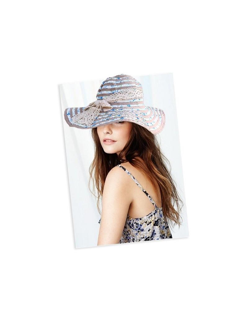 Chapeau d'été en coton et...