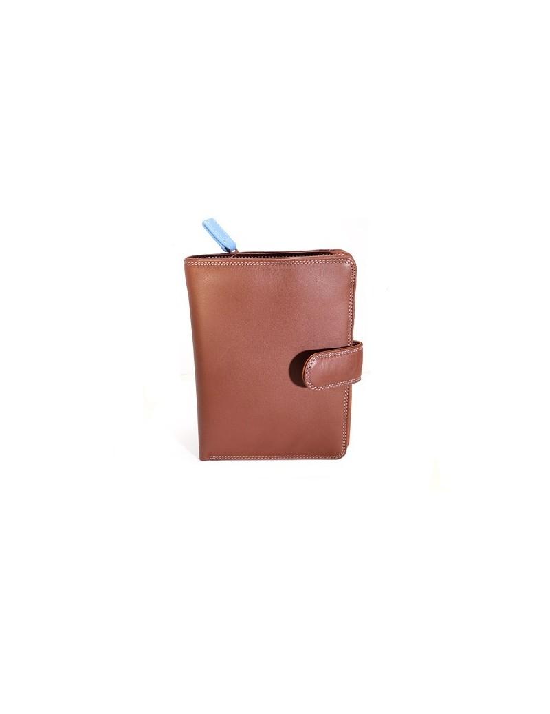 Portefeuille en cuir