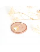 Bracelet en résine mat brun ou vert