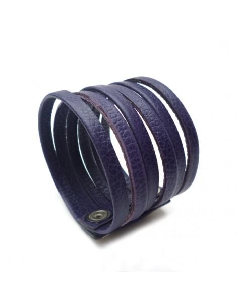 Boucle d'oreille aile en métal argenté