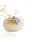 Bracelet en résine mat coloré