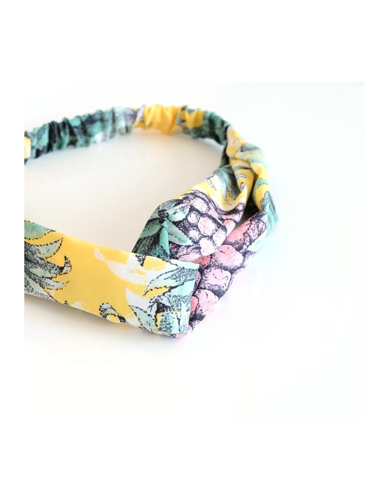 Bandeau avec imprimé ananas