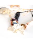 Bracelet coloré en cuir