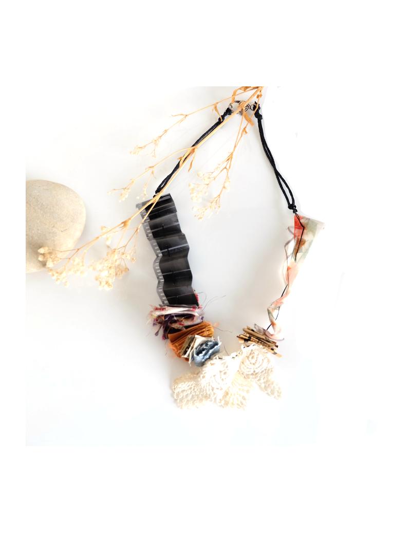 Bracelet en cuir d'autruche